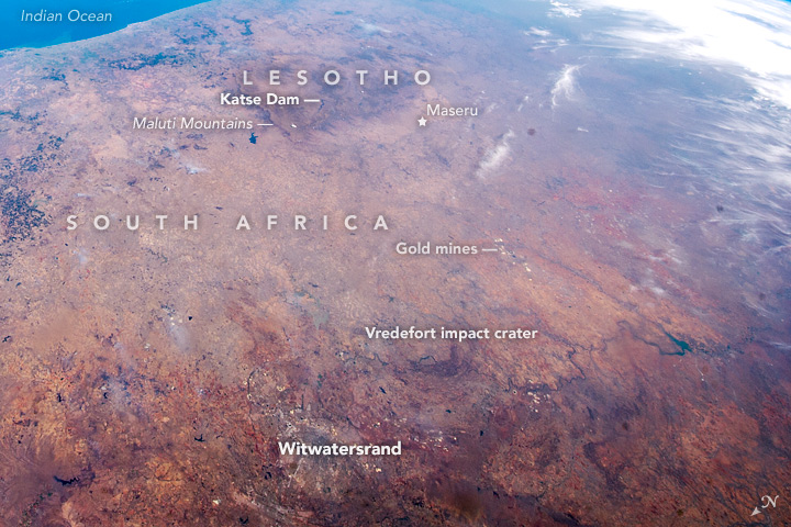 South Africa and Lesotho—A Panorama