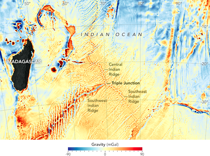 New Seafloor Map Helps Scientists Find New Features  Image of the Day