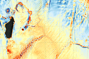 New Seafloor Map Helps Scientists Find New Features  - selected image