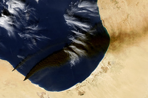 Oil Tank Fires in Libya - selected image