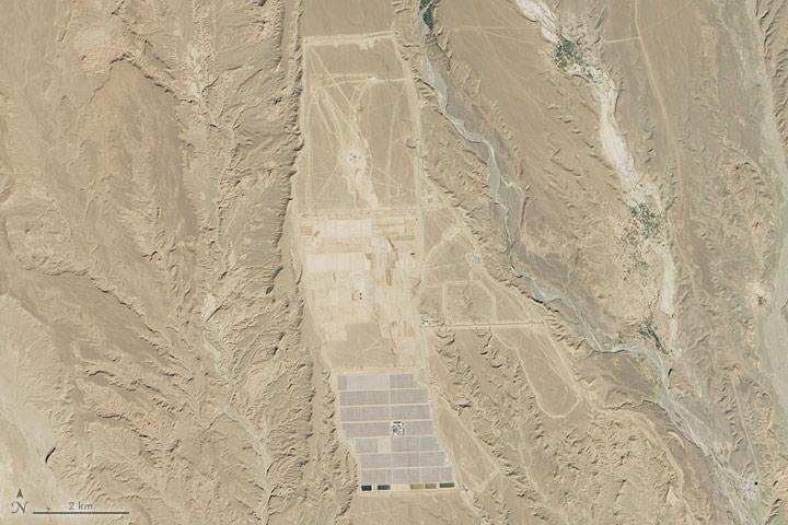 Solar in the Sahara