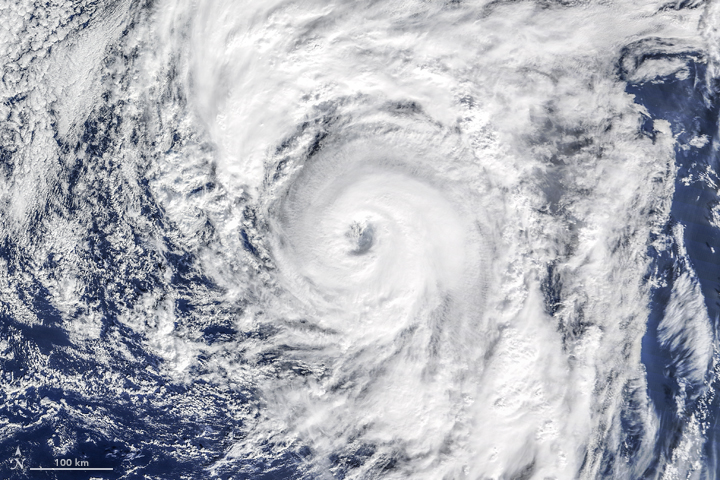 An Atlantic Hurricane…in January