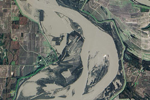 Flooding in Arkansas and Mississippi - selected image