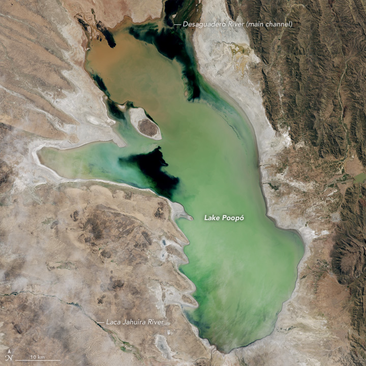 Bolivia's Lake Poopó Disappears