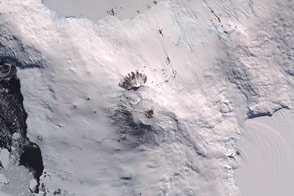 Mount Erebus, Antarctica - selected image