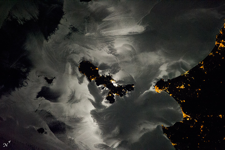 Elba and the Mediterranean at Night - related image preview