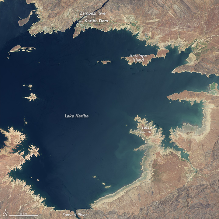 The Decline of Lake Kariba