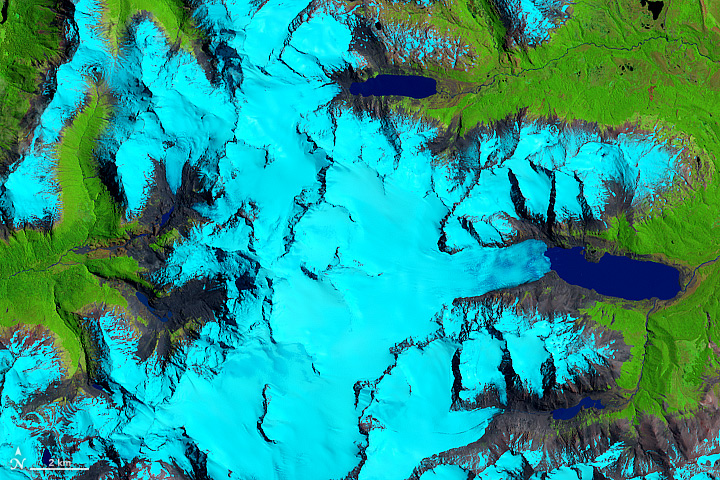 Retreat of the Sierra de Sangra Glaciers - related image preview