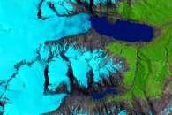 Retreat of the Sierra de Sangra Glaciers