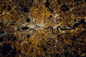 London at Night - selected image