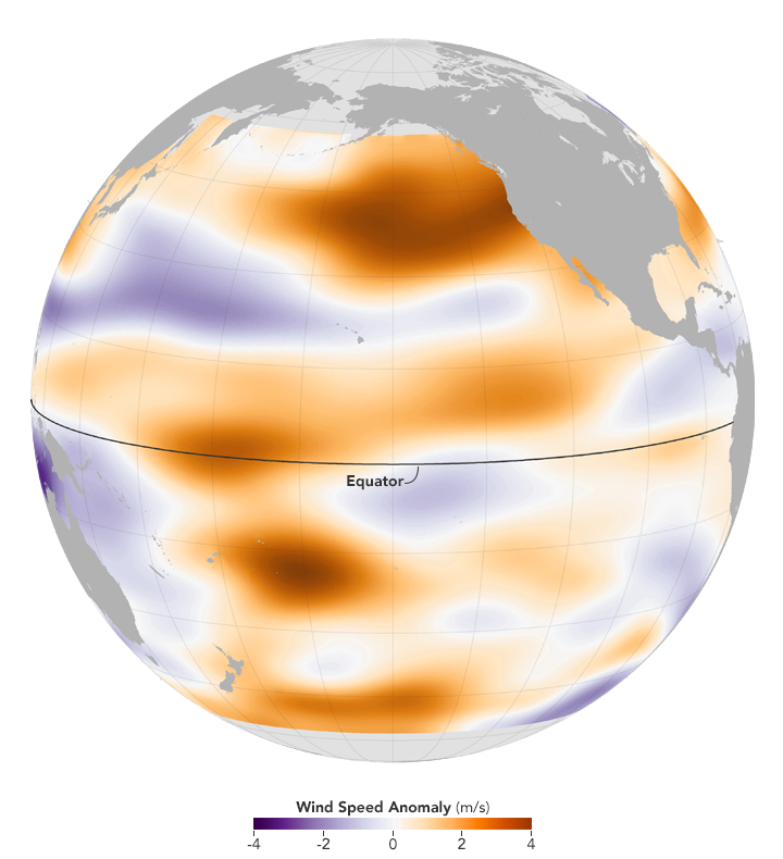 El Niño's Shifting Winds