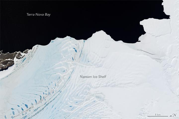 Nansen Breaking Up with Antarctica