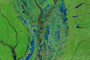 Flooding in the U.S. South - selected image