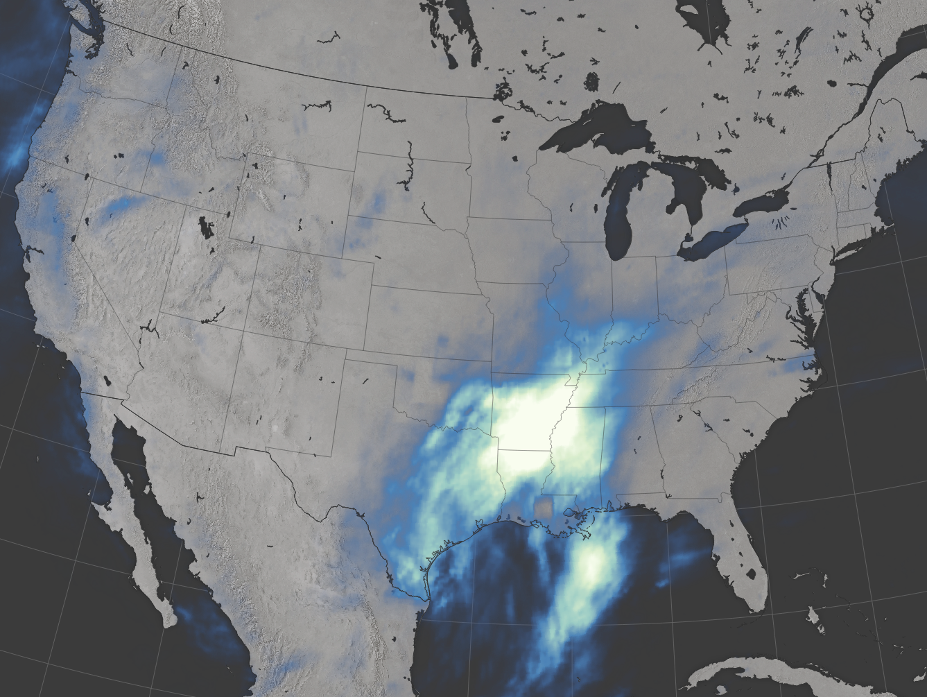 Flooding in the U.S. South - related image preview