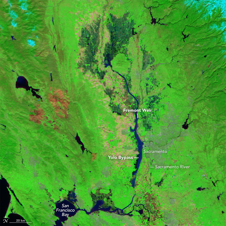Northern California Floodway Fills
