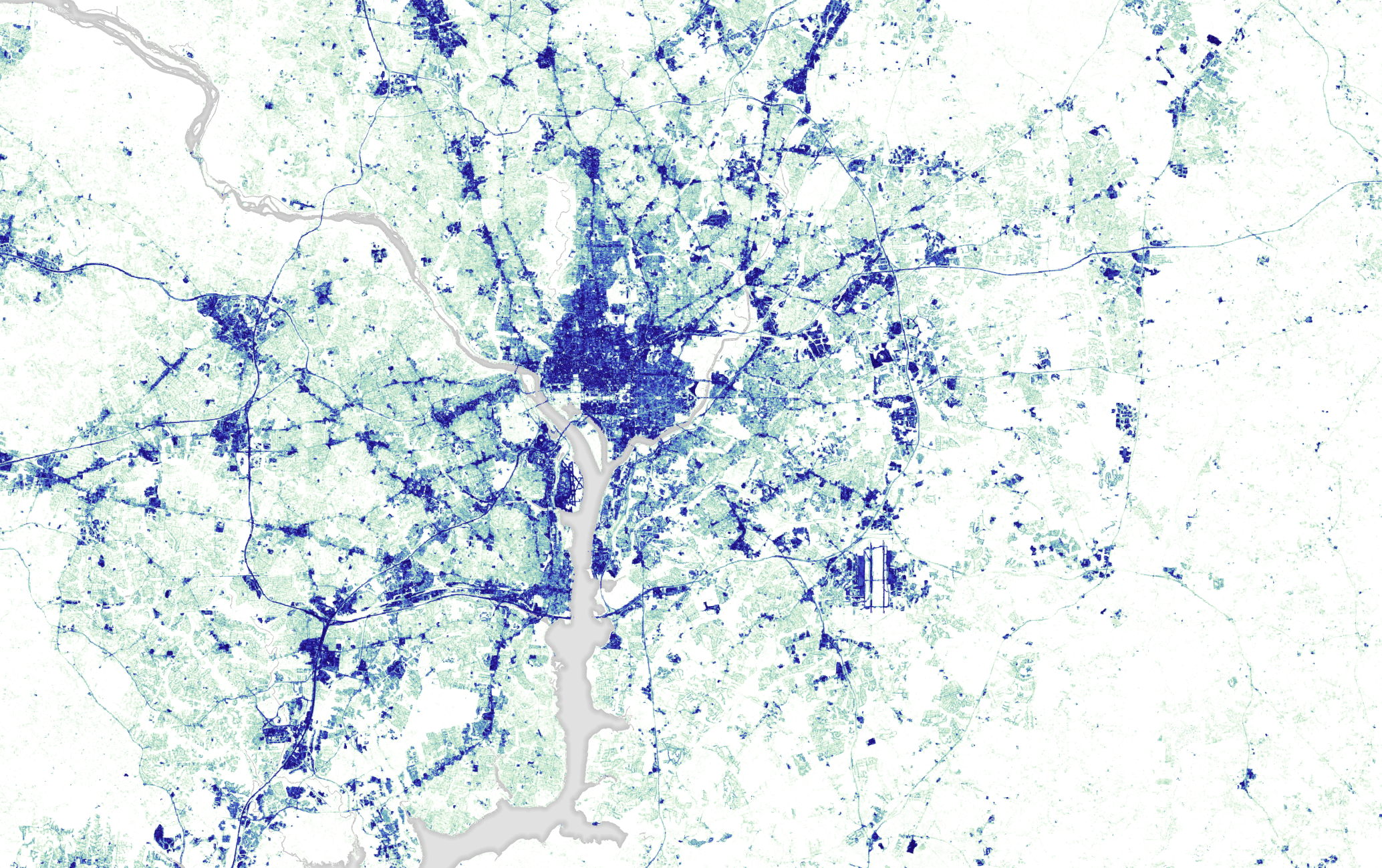 Paving Washington  Image Of The Day - Washington dc gis map