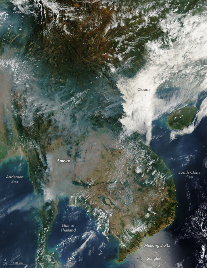 Smoke and Fire in the Indochina Peninsula