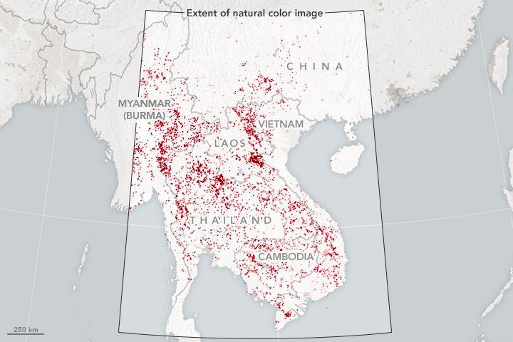 Smoke and Fire in the Indochina Peninsula