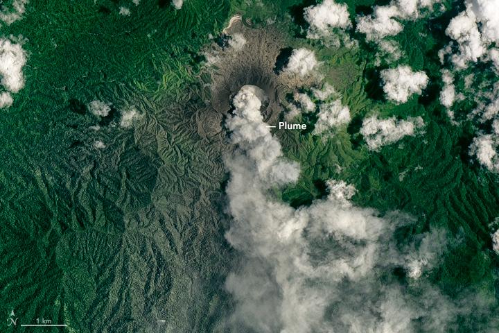 Activity at Dukono Volcano