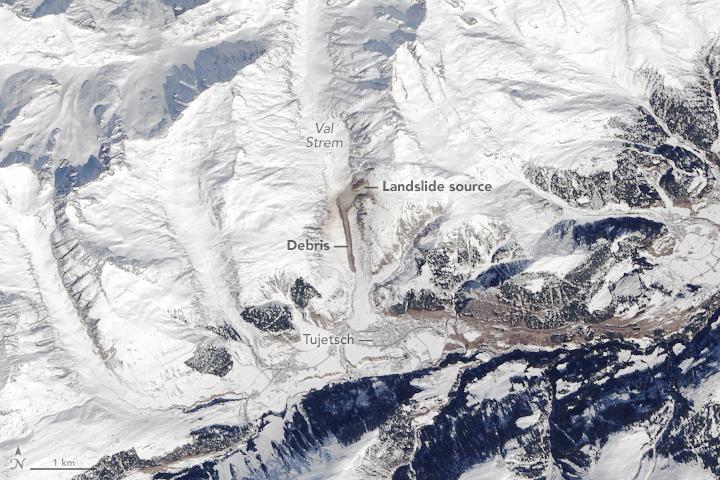 Val Strem Landslide