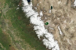 Sierra Nevada Snowpack is Better, but Not Normal