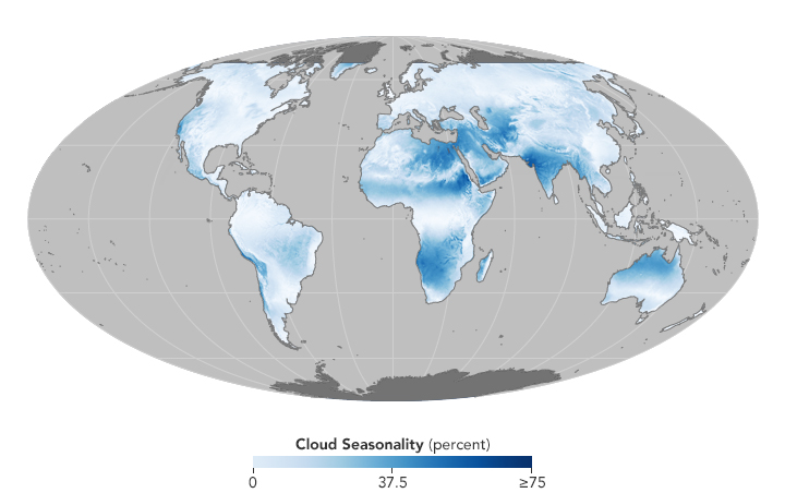 Using Clouds to Map Life