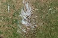 Rangeland Fires Char Eastern Kansas