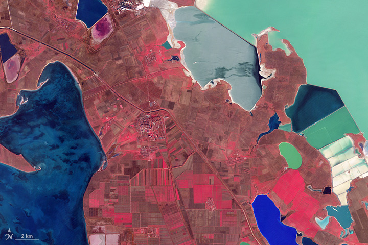 Otherworldly Salt Lakes and Lagoons in Crimea - related image preview