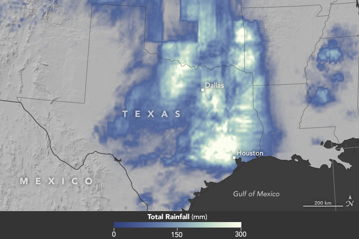 Record Rainfall in Southeast Texas