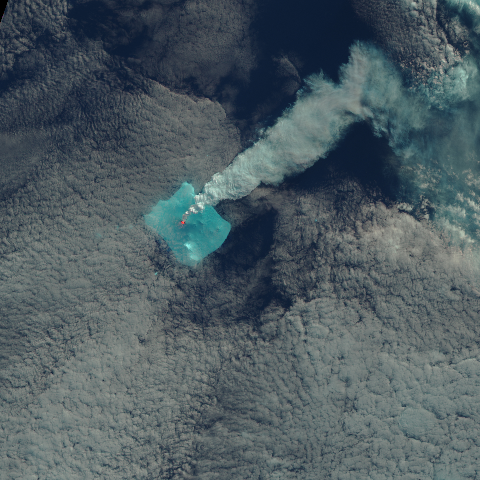 Signs of an Eruption on Bristol Island : Image of the Day