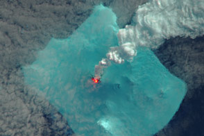 Signs of an Eruption on Bristol Island