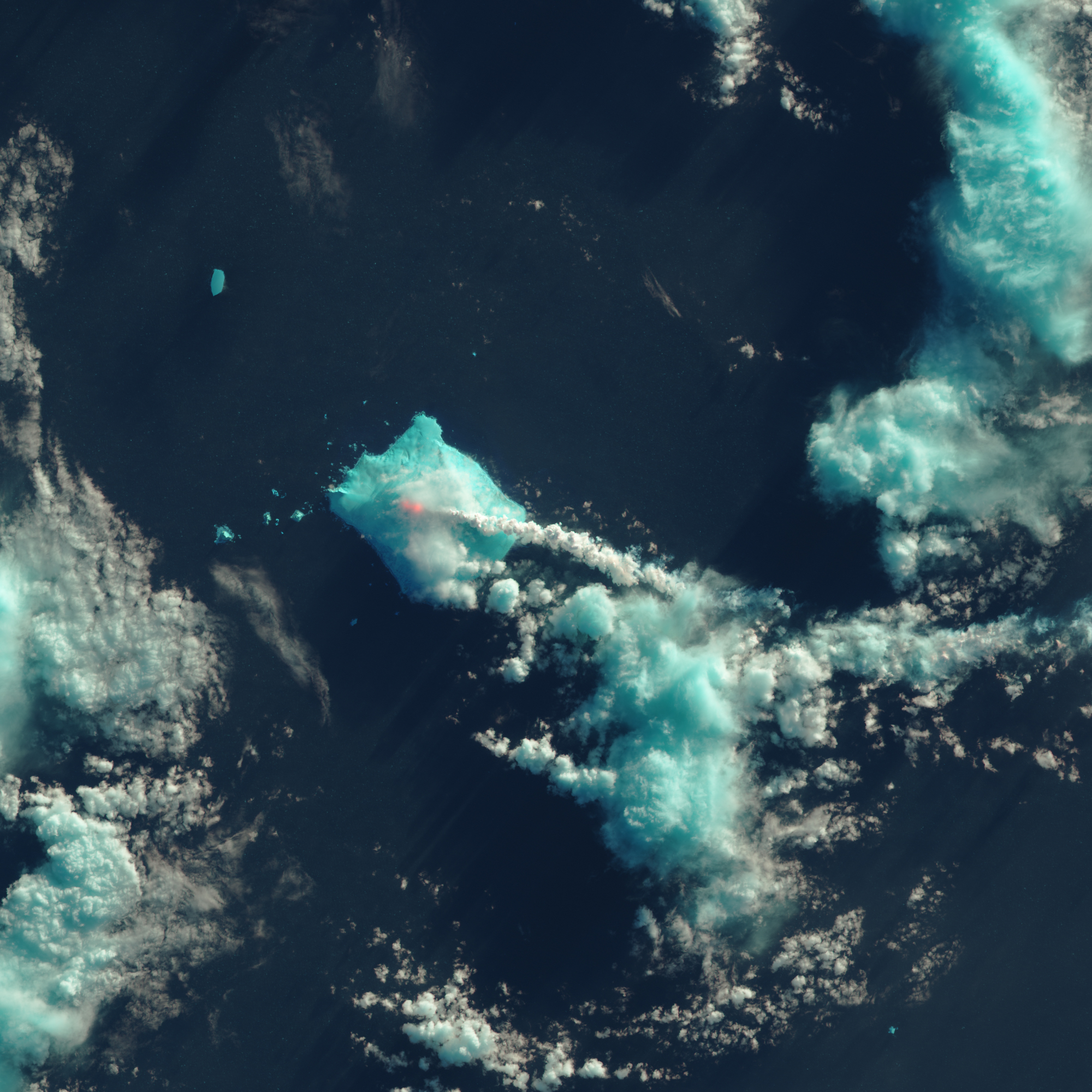 Signs of an Eruption on Bristol Island - related image preview