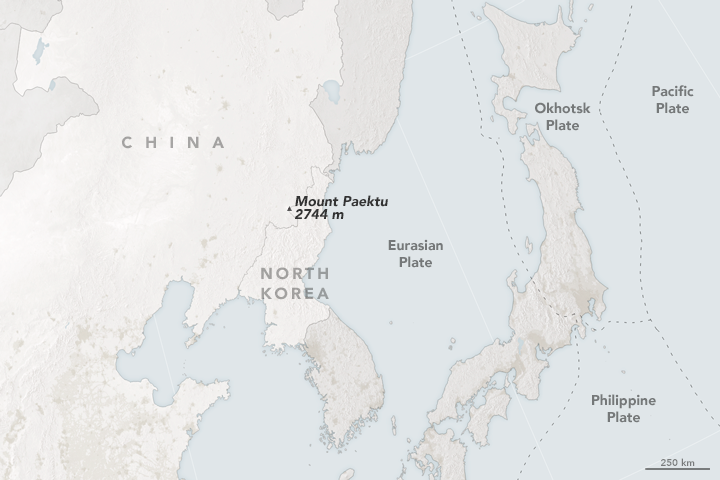 Mount Paektu: North Korea's Slumbering Giant
