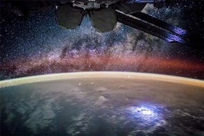 Stargazing from the ISS