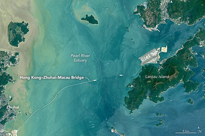 Bridging The Pearl River Delta Image Of The Day