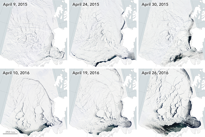 Early Breakup of the Beaufort Sea Ice - related image preview