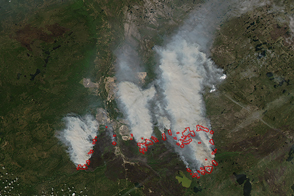 Fort McMurray Wildfire Still Burns