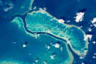 Great Barrier Reef near Whitsunday Islands