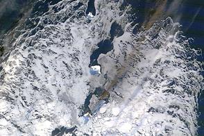 Bristol Island Eruption Continues