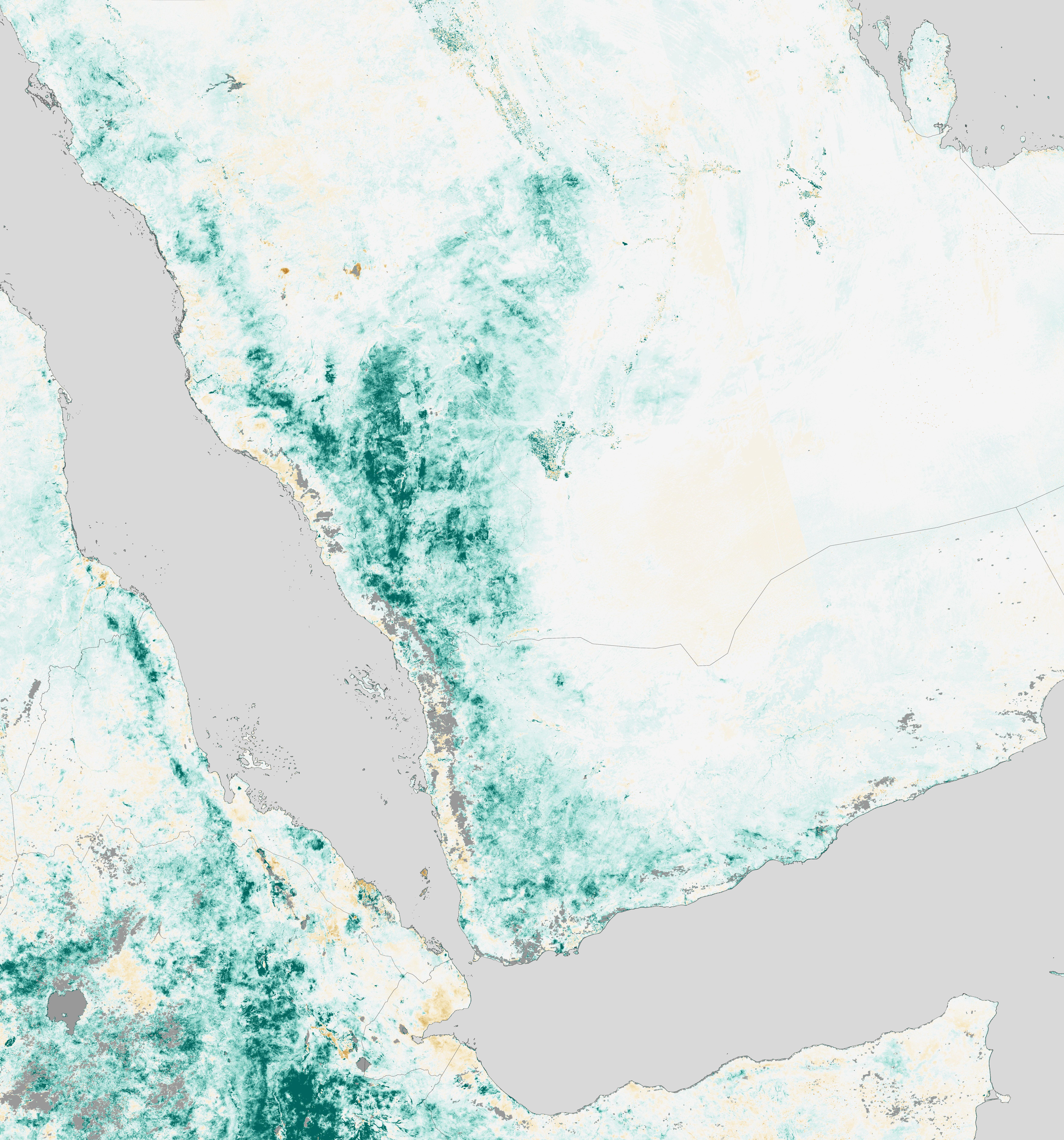 NASA Visible Earth: Arabian Peninsula Primed for Rift Valley Fever