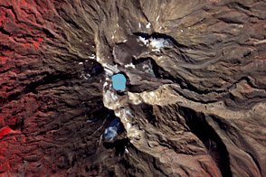 A Satellite Eye on Mount Ruapehu
