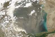 Does Dust Affect Water Levels of the Caspian Sea?