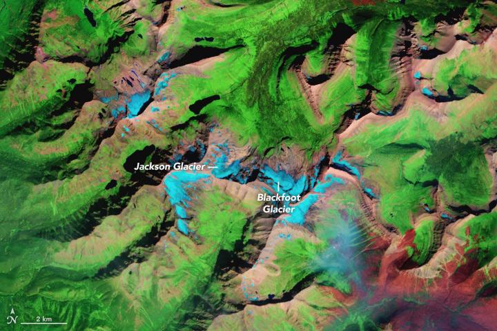 Glacial Change in Montana's Blackfoot-Jackson Basin - related image preview