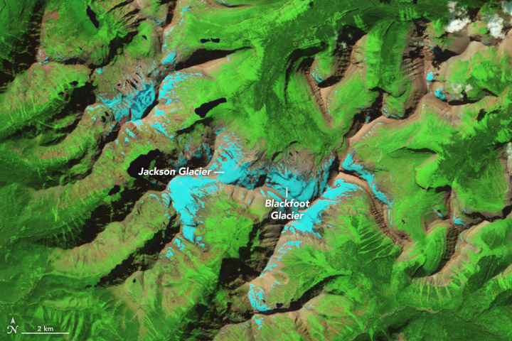 Glacial Change in Montana's Blackfoot-Jackson Basin