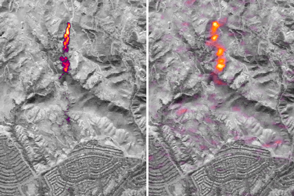 Imaging a Methane Leak from Space - selected image