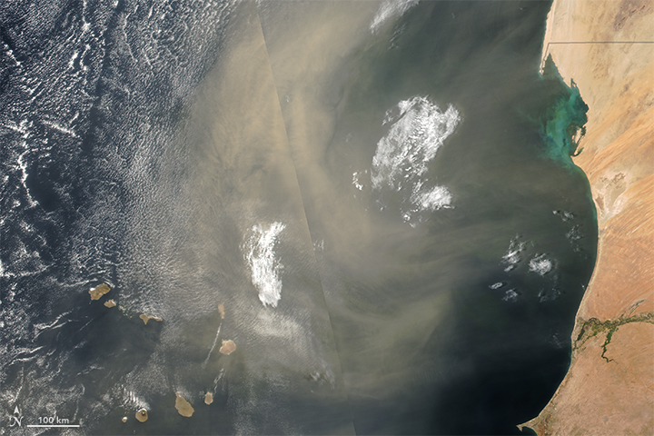 Atmosphere Awash with Saharan Dust - related image preview