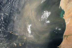 Atmosphere Awash with Saharan Dust