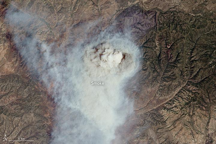 Cedar Fire, Arizona