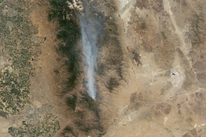 Erskine Fire, California