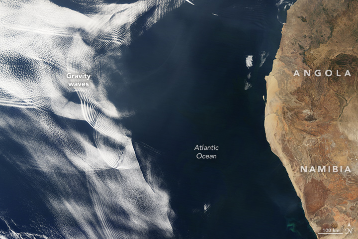 Making Waves in the Sky off of Africa